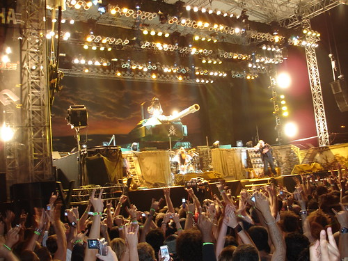 Iron Maiden at the Dubai Desert Rock Festival 2007