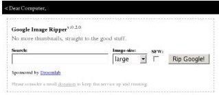Google Image Ropper