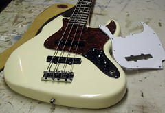 Fender Jazz - 7 (stevelosh) Tags: bass jazz fender bassguitar electricbass jazzbass fenderjazz fenderjazzbass