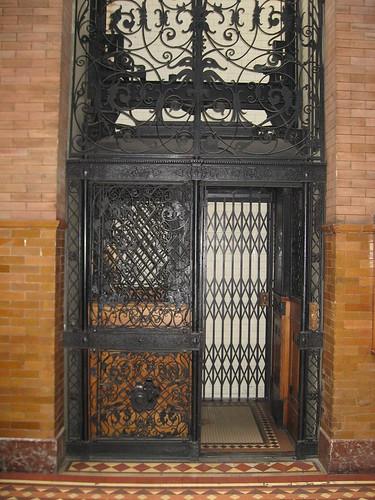 The Bradbury Building - Elevator