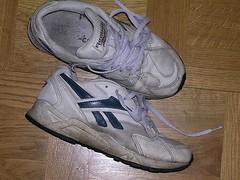 Äckliga sneakers