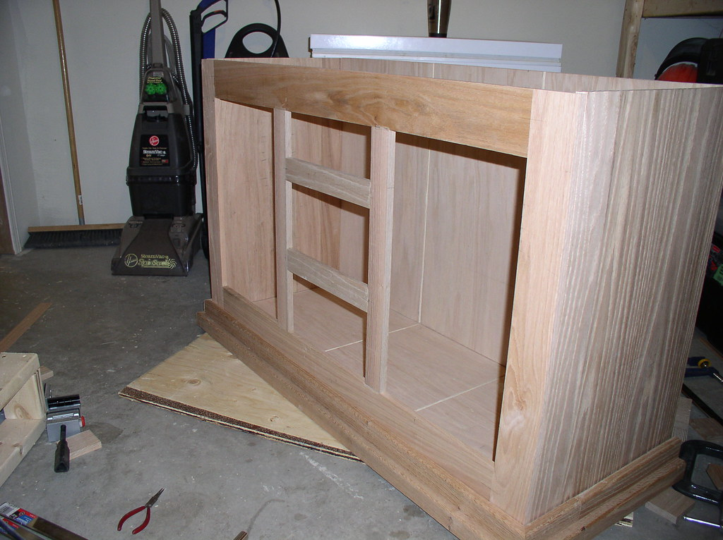 Cabinet walls