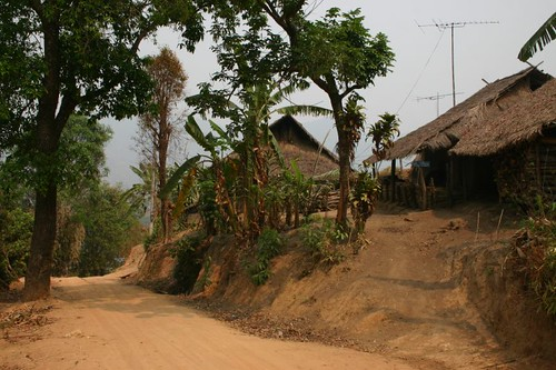 Yapa hill tribe village