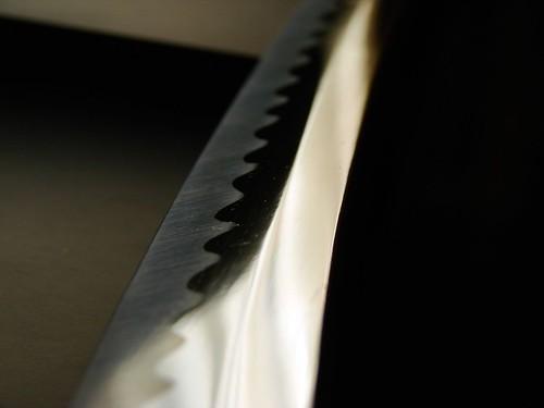 Trempe de sabre japonais