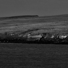 Brokenship black and white 2 (IvarPeturs) Tags: iceland