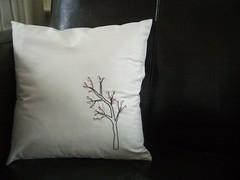 cherry blossom pillow