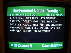 Weather Statement