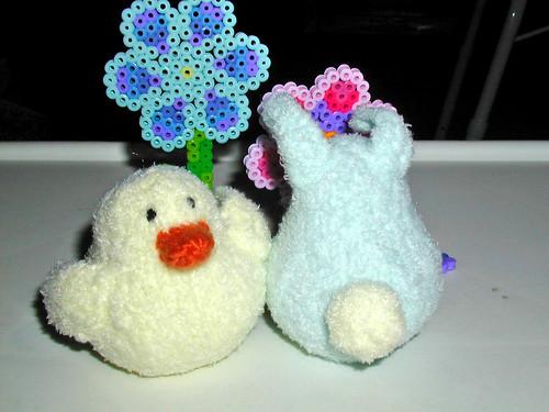 Jen's peep & rabbit