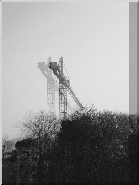 eerie cranes