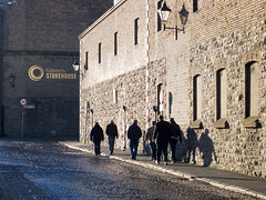 Approaching Guinness Storehouse Museum (david.nikonvscanon) Tags: world camera original dublin digital photoshop photography photo search saturated photographer image postcard creative commons icon images guinness photograph luck lucky pixel creativecommons saturation surprise dp digitalphoto fin