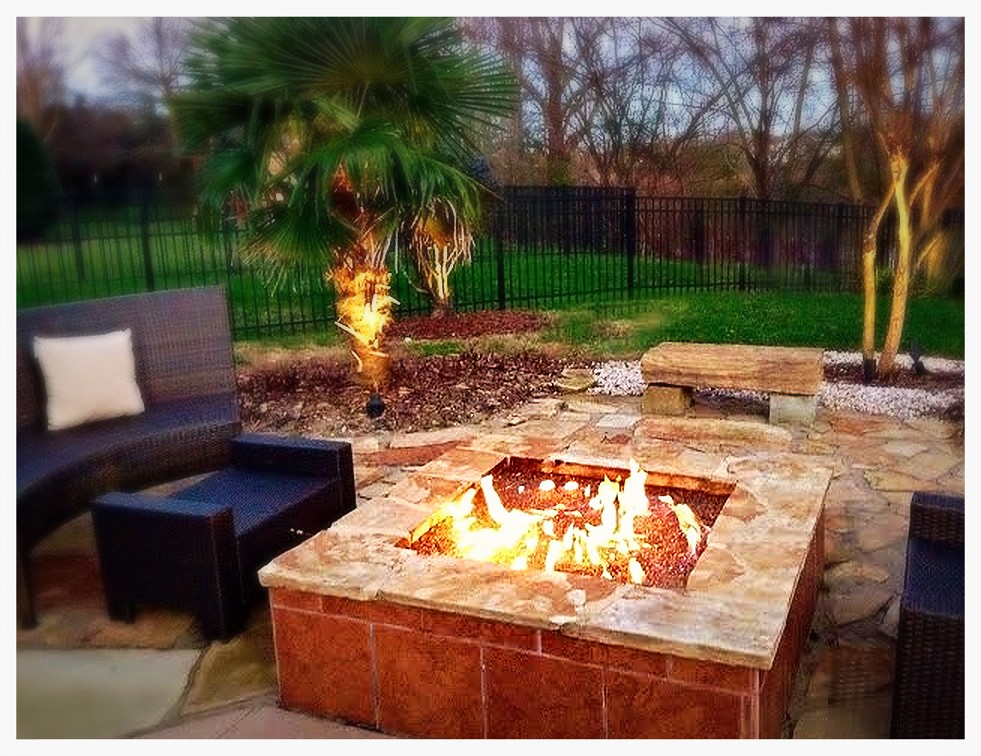 Custom Firepit. Chattanooga, Tn.