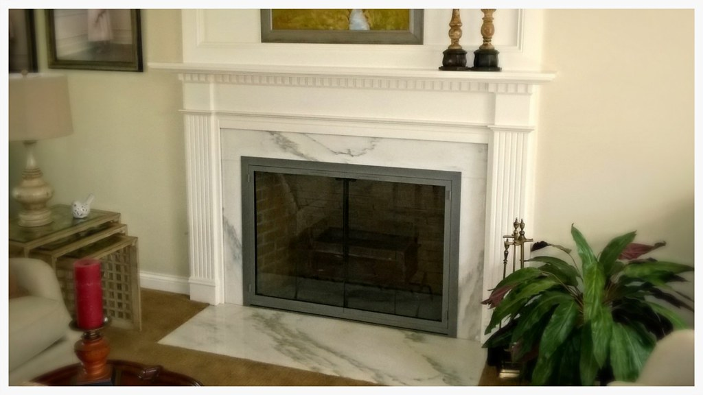 Design Specialties Carolina Steel Fireplace Doors. Hixson, Tn.