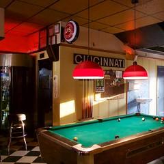The Comet (Travis Estell) Tags: bar billiards cincinnati neighborhoodbar northside ohio pooltable thecomet