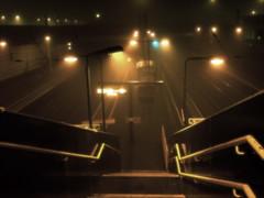 The Fog (edwardkb) Tags: christmas xmas winter mist fog night train nacht grim transport gloom nuit dsct7 interestingness33 i500 ruvjet edwardbarnieh