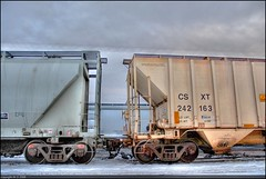 CS242 (A guy with A camera) Tags: railroad canada cars train nikon flickr track railway alberta hdr highdynamicrange d80