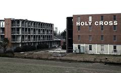 Holy Cross (Alex Gaidouk) Tags: school abandoned louisiana neworleans 2006 9thward demolished holycross sigma2470mmf28exdg