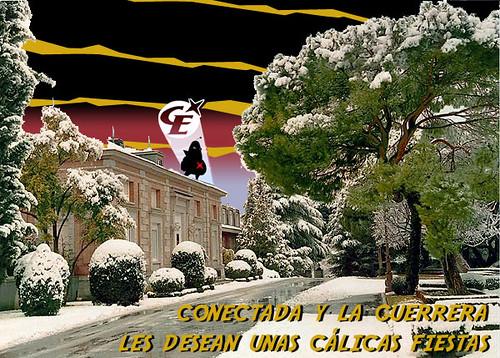 Conectada y La Guerrera les desean unas cálicas navidades