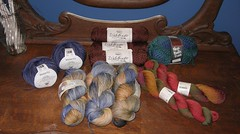 Holiday yarn haul