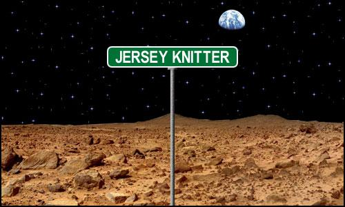 Jersey Knitter on Mars