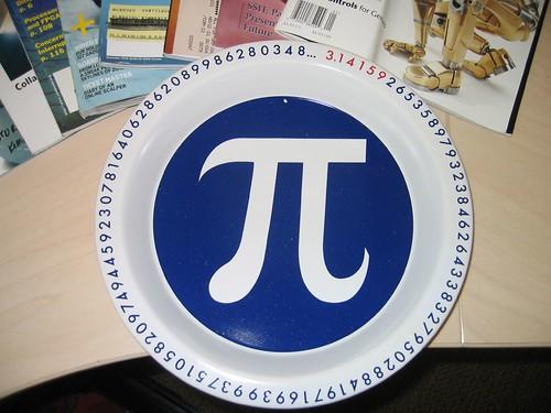 pi(e) plate - on Flickr