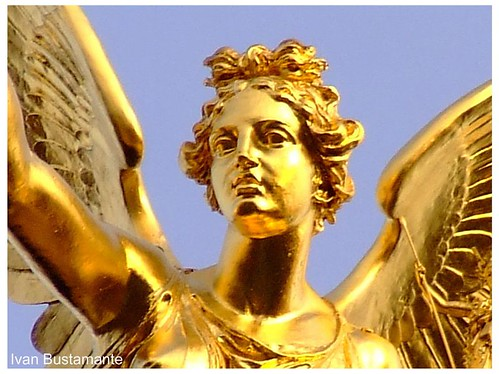 peace angel, or friedensengel, in munich, germany