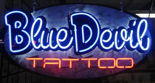 Blue Devil Tattoo Shop