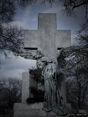 (sahst23) Tags: cemetery statue angel nikon cross nikond70 allrightsreserved alleghenycemetery 2006stephenahall