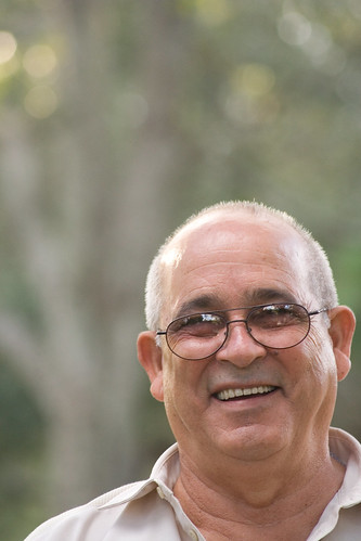 Abuelo Sotero at the Park