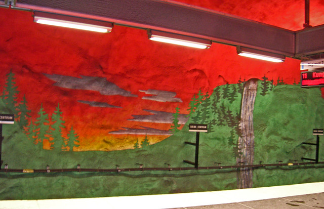 060301 Solna T-stn forest n sky
