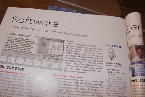 Feeder in PC Magazine
