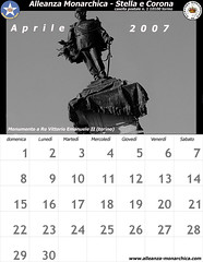 Calendario aprile  2007