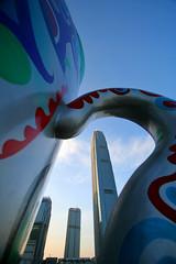 through the view finder :) (zyryntyrah) Tags: building cup architecture skyscraper hongkong asia central gaye artexhibition ifc2 sirintira