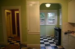 before: mudroom and nook