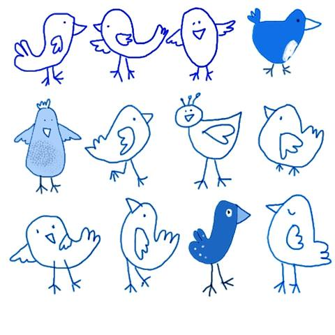 Blue Birds by monettenriquez, on Flickr