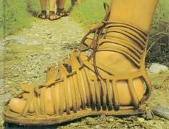 Sandalen, niet in elke winkel te koop helaas
