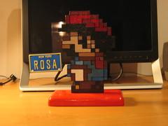 Mario por detrás