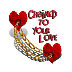 Chained to your love (Gravityx9) Tags: photoshop chop 0308 zazzle lovesme namethatsong 032508
