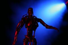 T-800 and HK (I Am Adam) Tags: toy robot miniature figure terminator t2 jamescameron t800 endoskeleton kiler
