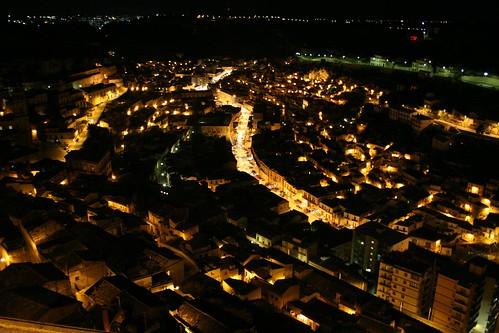 Modica's river of light