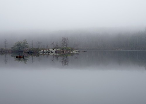 Rainy Day on Gritman Pond