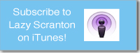 Lazy Scranton iTunes button