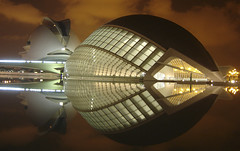 Fish (3:14) Tags: valencia night noche arts ciudad views calatrava 500views 300 500 artes ciutat ciencias hemisferic ciencies