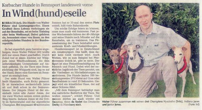 Artikel Waldeckische Landeszeitung