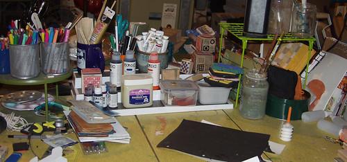 paint desk