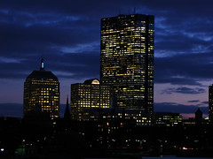 Boston at dusk (kazu4313123) Tags: boston charles g7