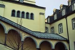 bogengang (sabriensche) Tags: kirche kloster siegburg bogengang abtei michaelsberg