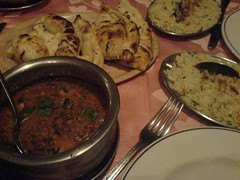 Sultan Chicken & Garlic Naan @ The Khukuri