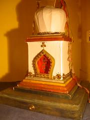 Le stupa au Centre Bouddhiste de l'Ile de France, à Paris.