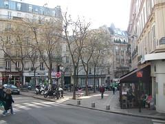 La rue Condorcet à Paris.