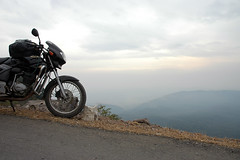 LoneSome (~FreeBirD~) Tags: life morning blue sunset sky india black nature bike clouds sunrise landscape nikon d70 biker roads himachalpradesh cbz herohonda indianroads nikonstunninggallery lovemax manibabbar frebird httpbirdofpreyspaceslivecom httplamenblogspotcom